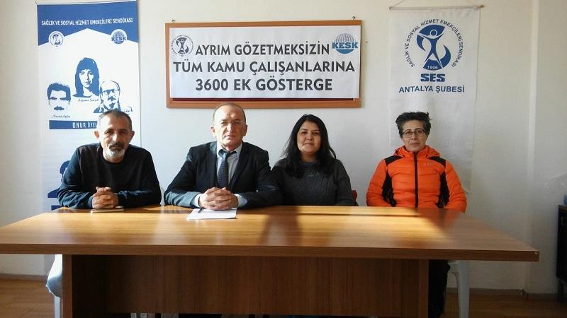 Antalya Şubemiz 3600 Ek Gösterge Hakkı Kampanyası İçin Start Verdi