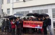 Bursa'da da Bordro Yakma Eylemi Gerçekleştirildi