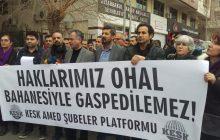 Diyarbakır KESK Davası: Haklarımız OHAL Bahanesiyle Gasp Edilemez
