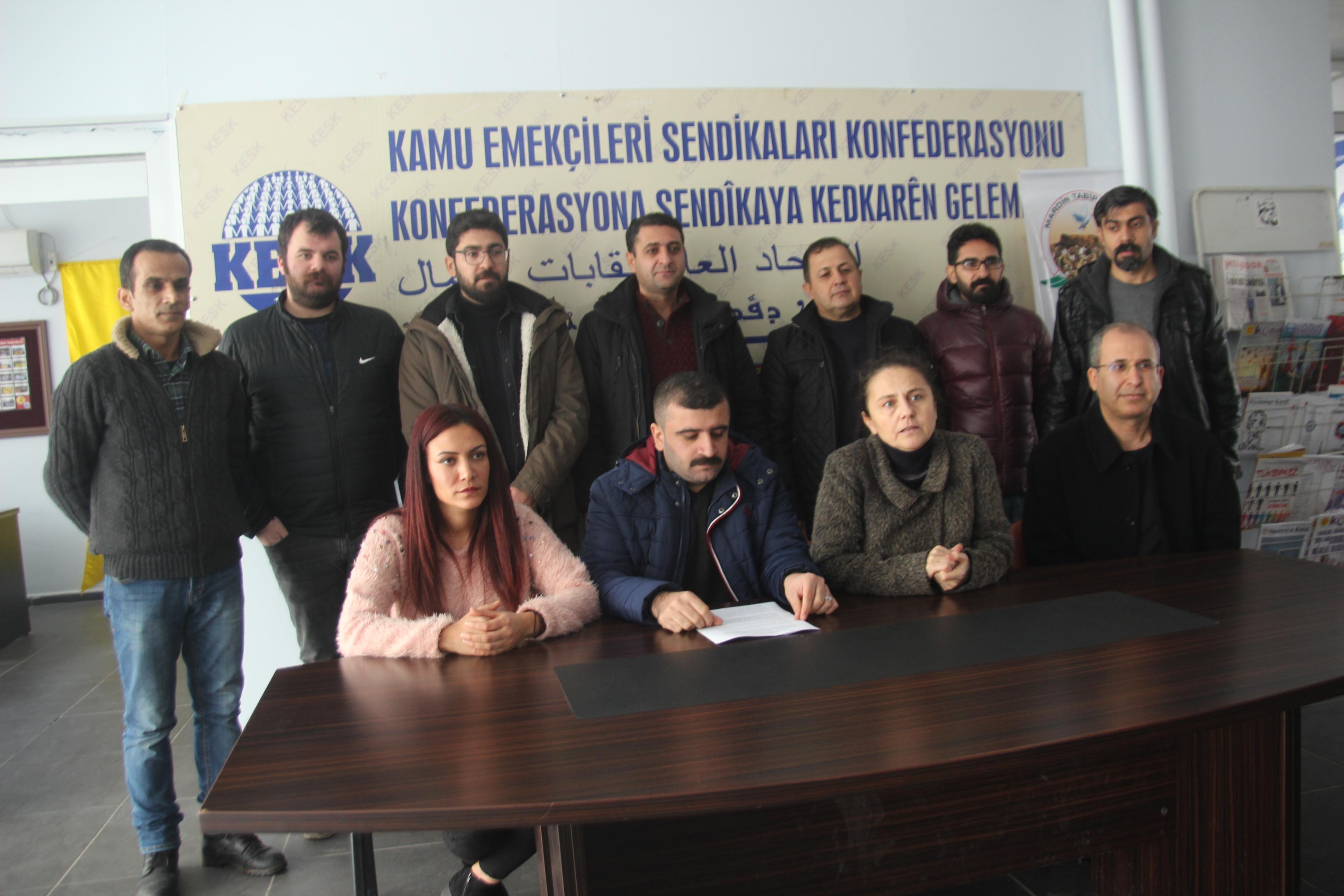 Mardin: Tabip Odalarının Oluşturacağı Bağımsız Hekim Heyetlerinin Cezaevlerine Girmesine Bir An Önce İzin Verilsin