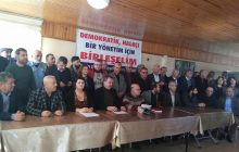 Mersin: Demokratik, Halkçı Bir Yönetim İçin Birleşelim