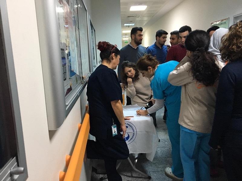 Bakırköy Şubemizden 3600 Ek Gösterge Talebi İçin İmza Kampanyası