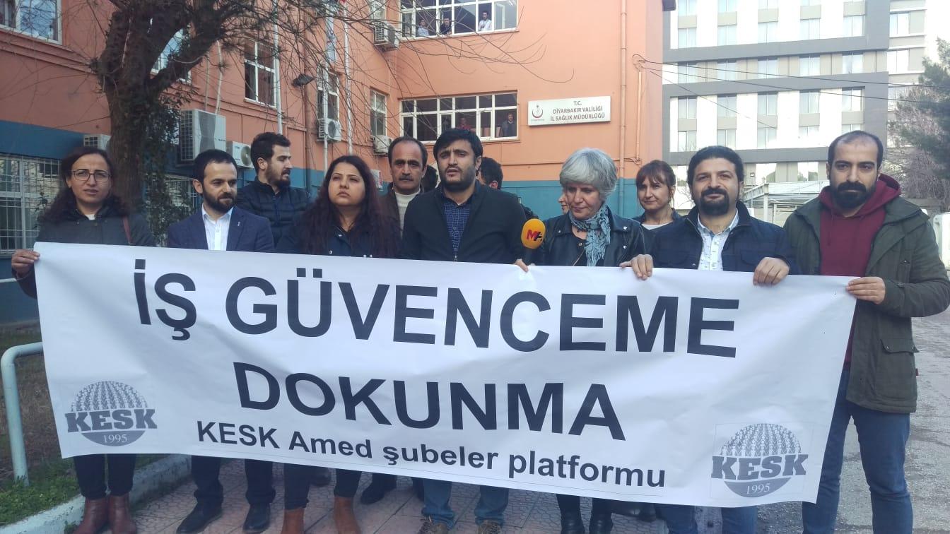 Diyarbakır: İş Güvenceme Dokunma