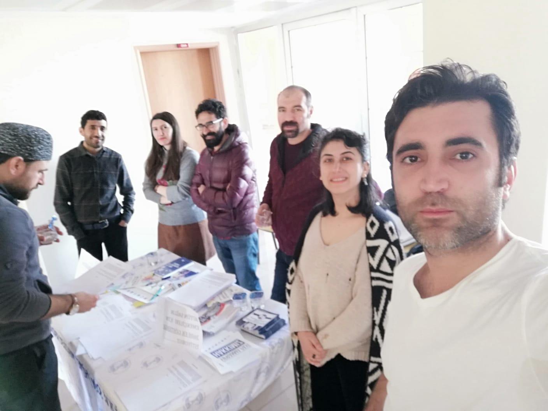 Mardin Şubemiz 3600 Ek Gösterge Talebi İçin İmza Kampanyasına Devam Ediyor