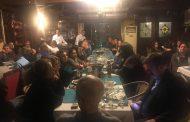 Mersin Şube Eş Başkanımız Yılmaz Bozkurt İçin Yemek Düzenlendi