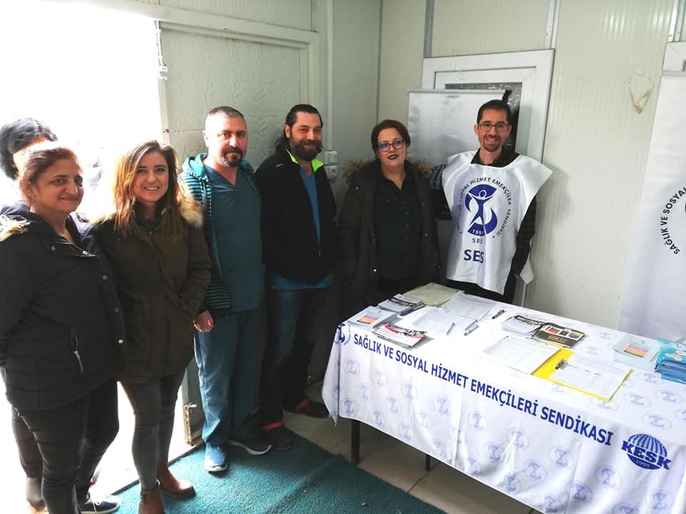 Sivas Şubemiz 3600 Ek Gösterge Talebi İçin İmza Kampanyasına Devam Ediyor