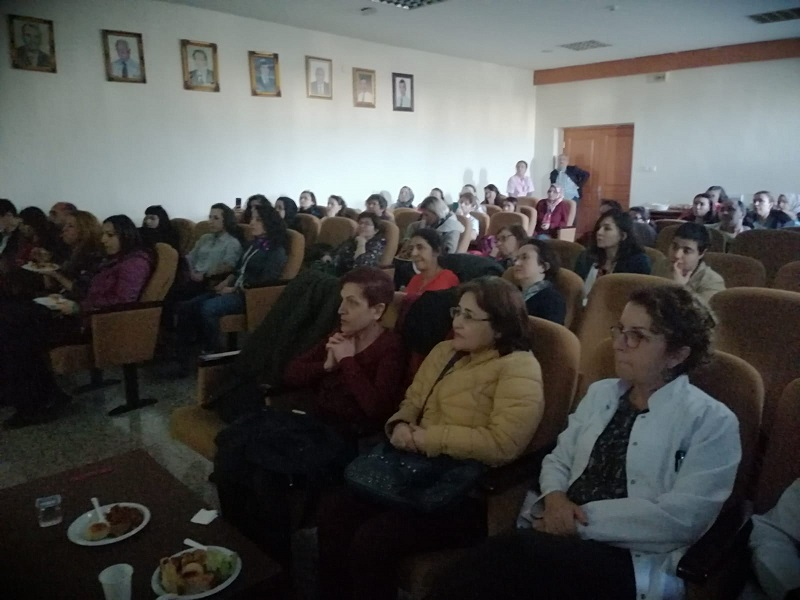 İstanbul Aksaray Şubemiz Yedikule Hastanesi'nde Kadınlarla Bir Araya Geldi