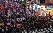 Kadınlar 8 Mart'ta Alanları Doldurdu:  Vardık, Varız, Var Olacağız