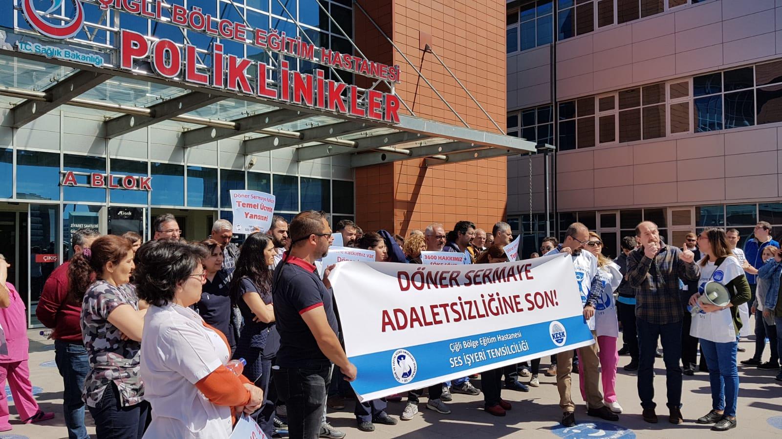 İzmir: Döner Sermaye Adaletsizliğine Son