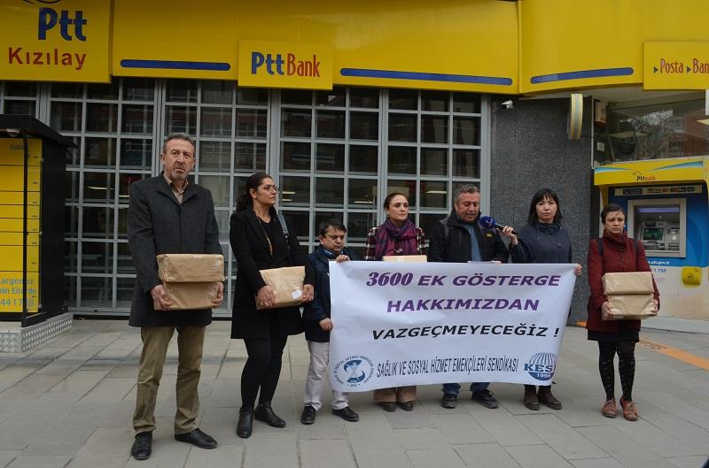 3600 Ek Gösterge Hakkımızdan Vazgeçmiyoruz: Topladığımız İmzaları TBMM'ye Gönderdik