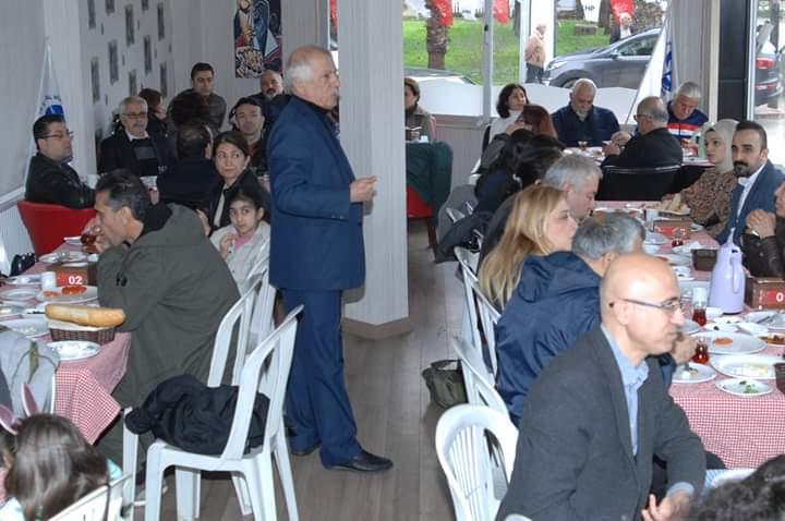 Adana Şubemiz Üyelerimizle Kahvaltıda Bir Araya Geldi