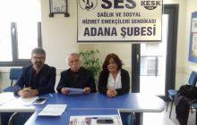 14 Mart Sağlık Haftasını Kutlayan Adana Şubemiz: Taleplerimizde Israrlı, Mücadelede Kararlıyız