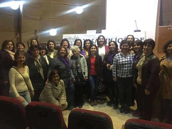 """Adana KESK Kadın Meclisi'nden """"Yaşamın İçinde Kadın"""" Paneli"""