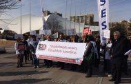 Sağlık Emekçileri 14 Mart Sağlık Haftasında Hacettepe Üniversitesi Hastanesi Önünde Eylem Yaptı
