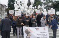 """14 Mart Sağlık Haftası'nda Bursa'da """"Sağlık Hakkı Yürüyüşü"""" Gerçekleştirildi"""