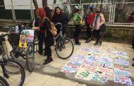 Diyarbakır'da Kadınlardan Bisikletli Eylem