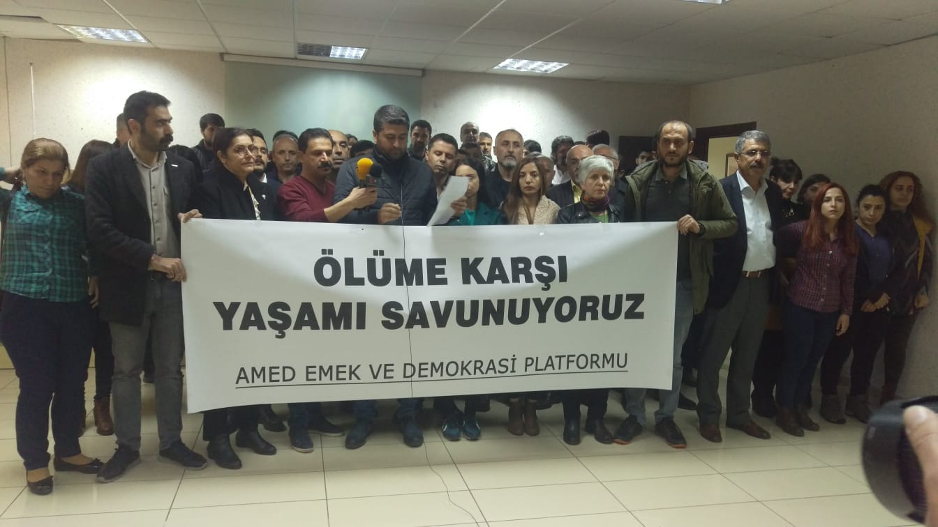 Diyarbakır: Ölüme Karşı Yaşamı Savunuyoruz