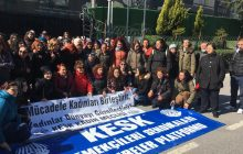 KESK'li Kadınlar Direnişçi Flormar İşçileriyle Buluştu
