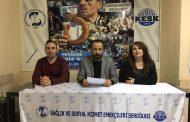 14 Mart Sağlık Haftası'nda Açıklama Yapan Kayseri Şubemiz: Haklarımız İçin Mücadeleye Devam Edeceğiz