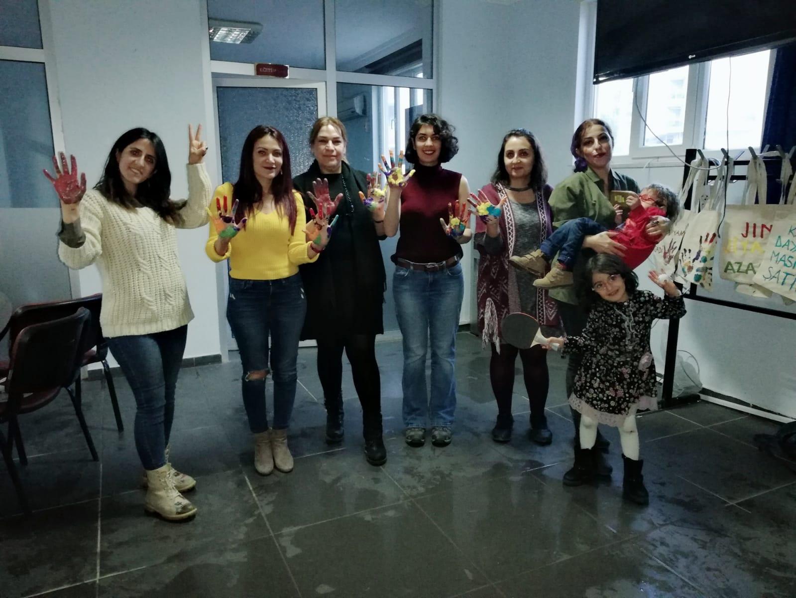 Mardin'de KESK'li Kadınlardan 8 Mart Etkinlikleri