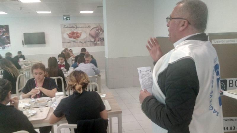 Mersin Şubemiz 14 Mart Sağlık Haftası'nda Şehir Hastanesi'nde Çalışan Sağlık Emekçilerini Ziyaret Etti