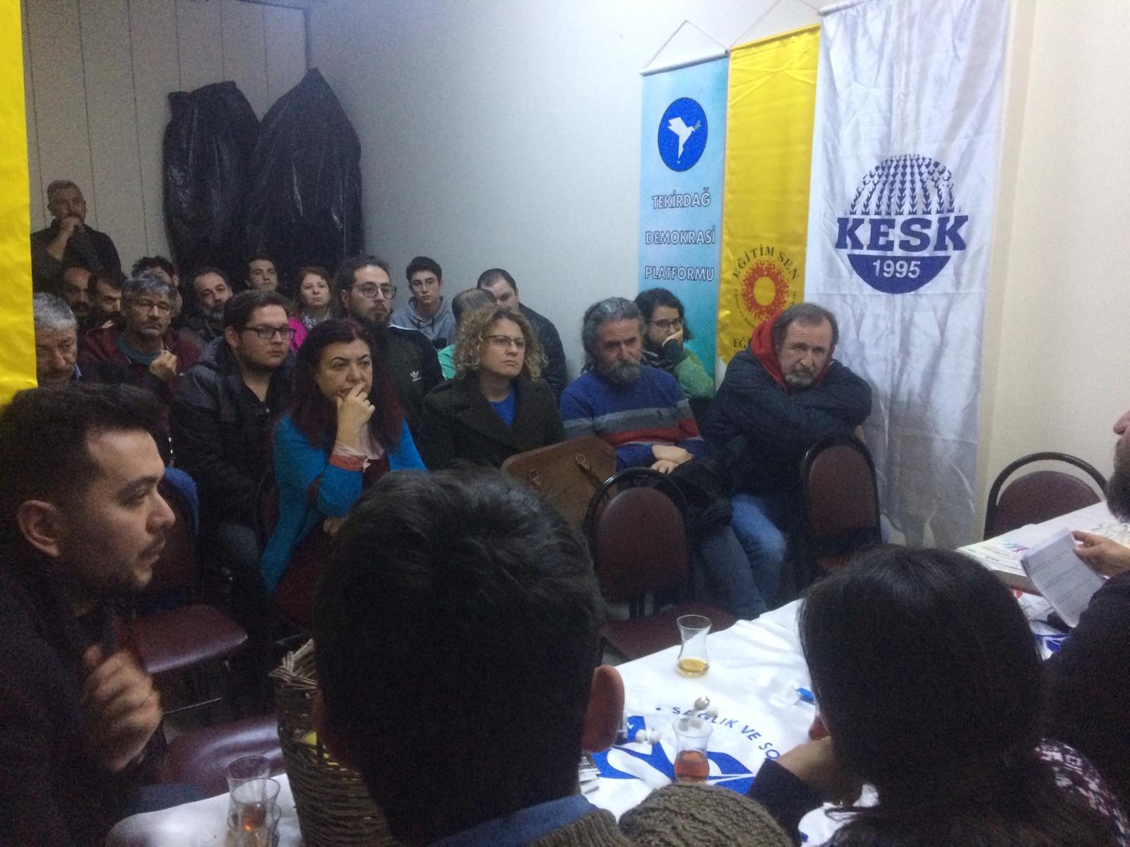 Tekirdağ Temsilciliğimiz Zeytinli Ortak Yaşam Topluluğuyla Söyleşi Gerçekleştirdi