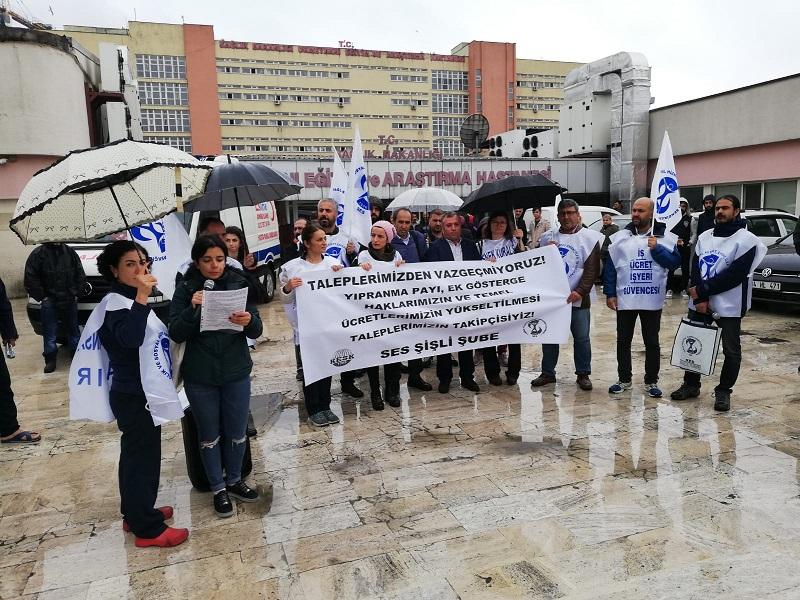 Yıpranma Payı, Ek Gösterge ve Temel Ücretlerimizin Yükseltilmesi Taleplerimizden Vazgeçmiyoruz: 11 Mayıs'ta Ankara'dayız!