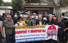 Kayseri'de Mimar Sinan Parkı'nda Yapılacak 1 Mayıs'a Çağrı