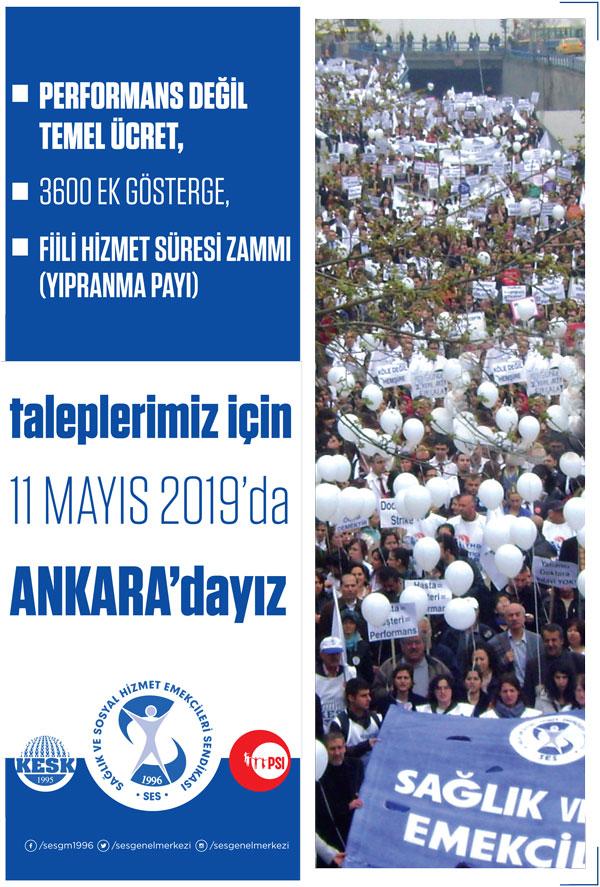 11 Mayıs'ta Ankara'dayız Afişi