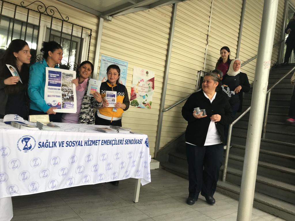 Sadi Konuk Eğitim ve Araştırma Hastanesi'nde 11 Mayıs Ankara Buluşmasına Çağrı