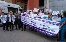 İzmir Şubemiz: Ebeler ve Hemşireler Artık Susmayacak!