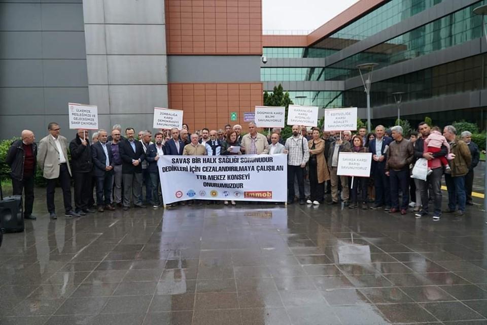 TTB'ye Ceza Verilmesine Bursa'dan da Tepki