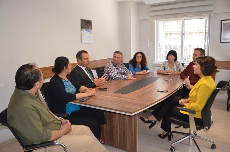 CHP'li Vekillerden Sendikamıza Ziyaret