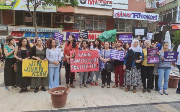 Dicle Amed Kadın Platformu'ndan Kadın Cinayetlerine Tepki
