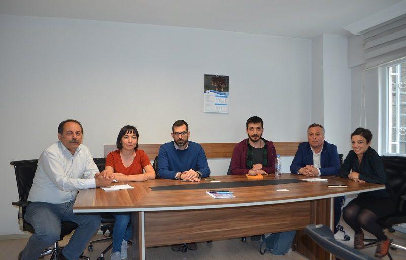 İnsan Hakları Kuruluşu Front Lıne Defenders'den Sendikamıza Ziyaret