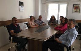 HDP'li Vekillerden Sendikamıza Ziyaret