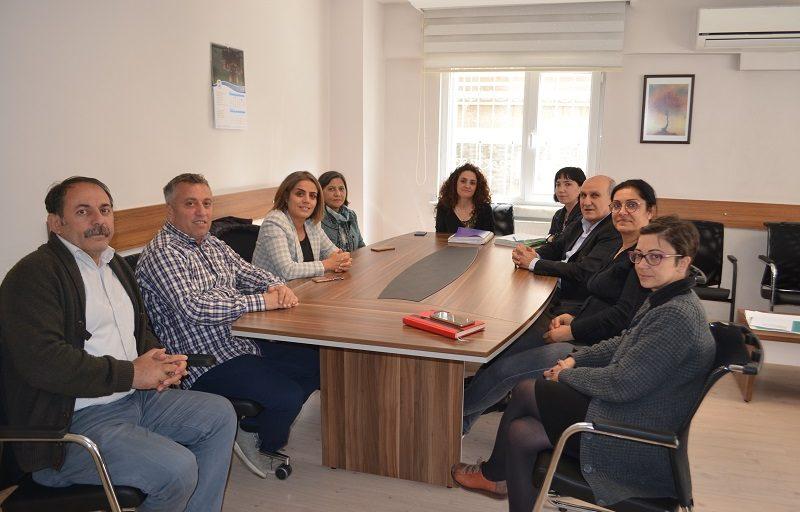 HDP'den Sendikamıza Ziyaret