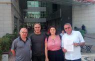 Mersin Şubemiz Şehir Hastanesi'nde Bildiri Dağıtımına Müdahaleye Karşı Suç Duyurusunda Bulundu