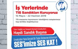 İŞYERLERİNDE TİS SANDIKLARI KURUYORUZ