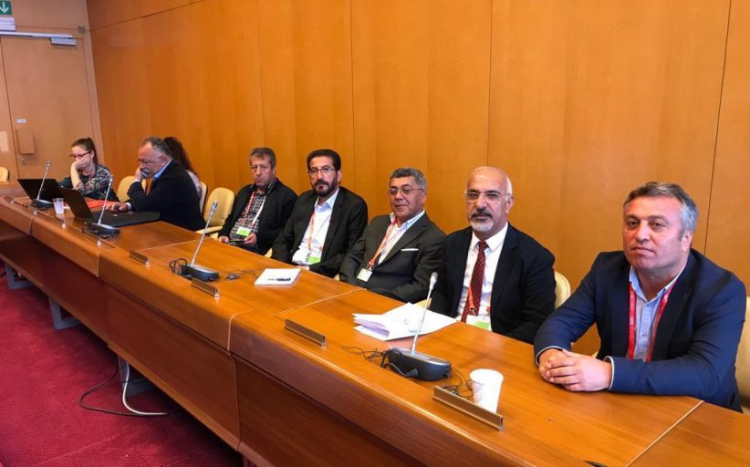 Eş Genel Başkanımız İbrahim Kara ILO'nun 100. Yıl Konferansına Katıldı