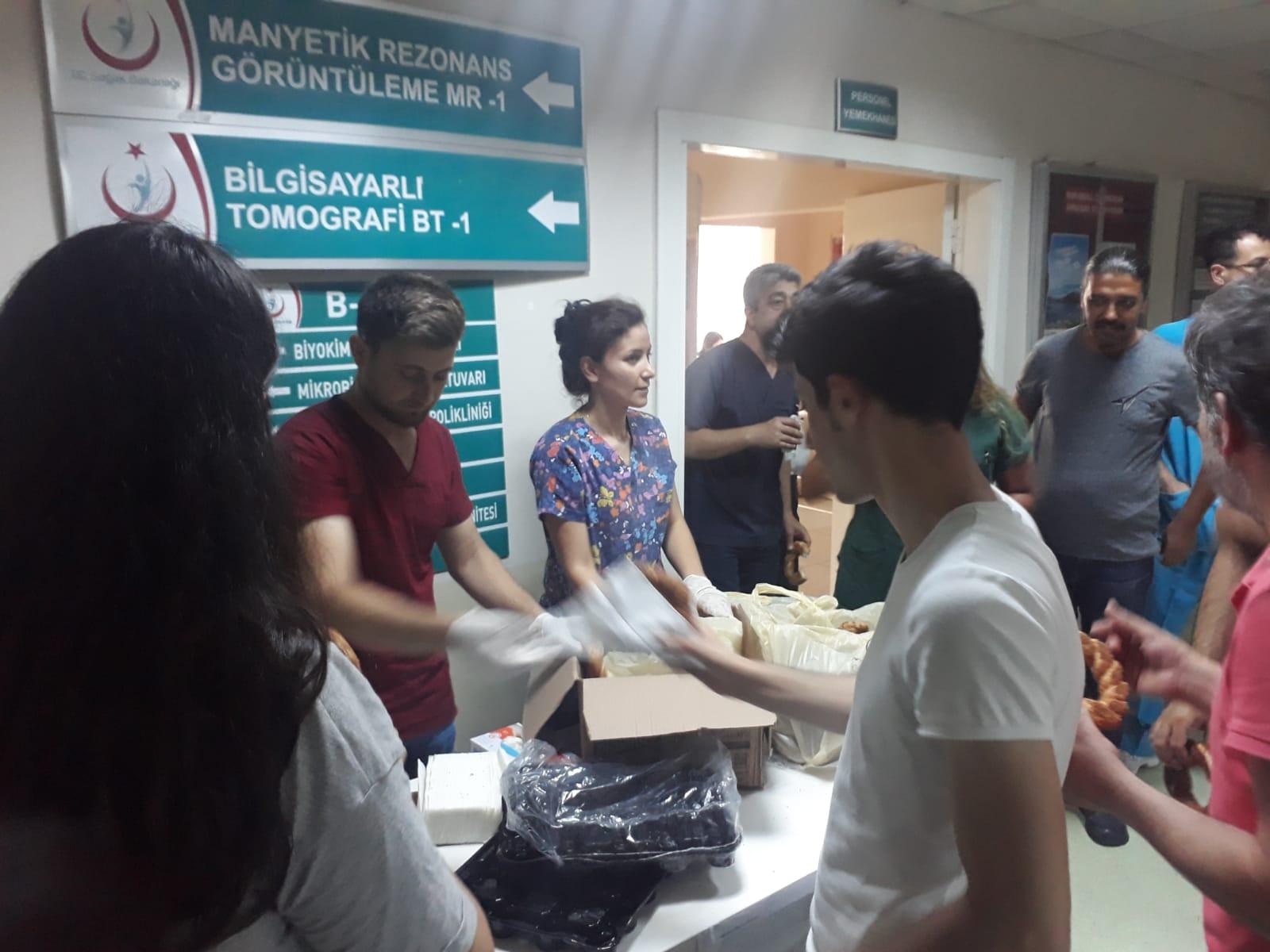 Şişli Etfal Hastanesi'nde Yemekhane Boykotu
