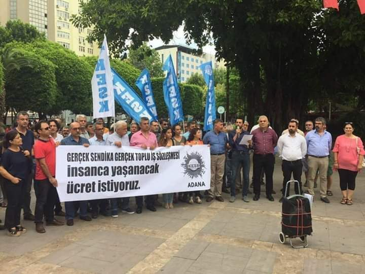 KESK Adana Şubeler Platformu TİS Taleplerini Açıkladı