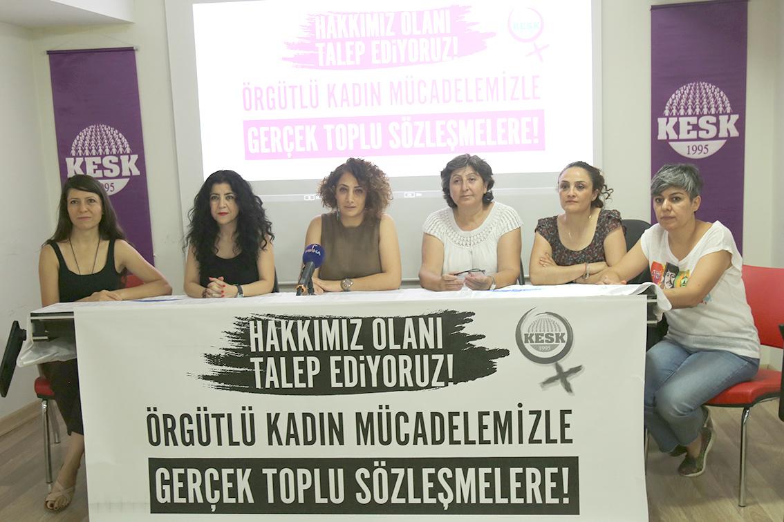 KESK Kadın TİS Taleplerimiz: Hakkımız Olanı Talep Ediyoruz!