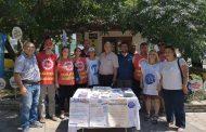 KESK Muğla Şubeler Platformu TİS Standı Açtı