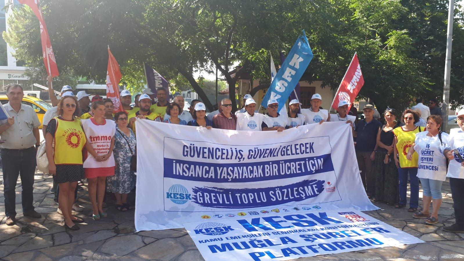 Toplu İş Sözleşmesi Taleplerimiz İçin 4 Koldan Ankara'ya Yürüyoruz!
