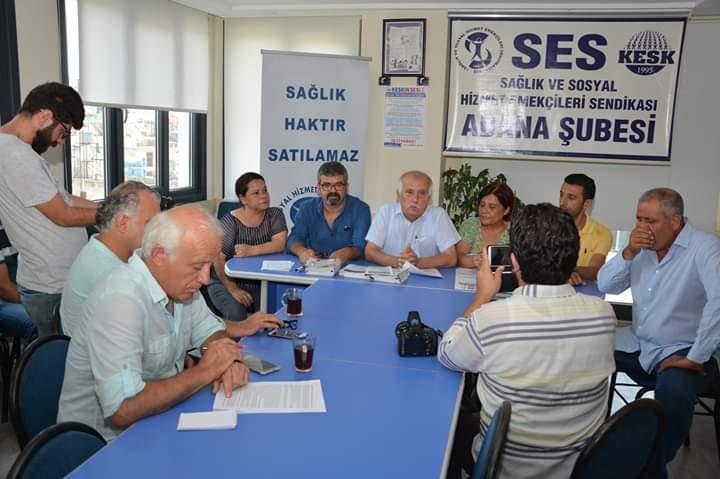 Kamu Görevlileri Hakem Kurulu'nun Kararını Kınayan Adana Şubemiz KESK'e Bağlı Sendikalarda Örgütlenme Çağrısı Yaptı