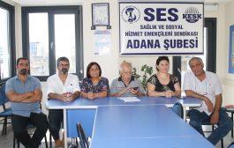 Adana Şubemiz: Döner Sermaye Ücretleri Ödensin!