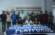 KESK Mardin Şubeler Platformu Belediyelerde Açığa Alınan KESK'lilerle İlgili Açıklama Yaptı