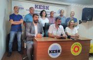 Mersin'de TİS Çalışmaları Nedeniyle KESK'lilere Para Cezası Verilmesi Kabul Edilemez!