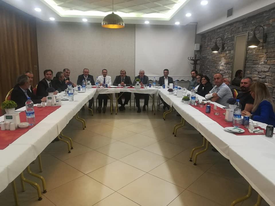 Sivas İl Sağlık Müdürlüğü'nden Sağlık Alanındaki Sendikalarla Toplantı
